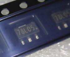 transistor 78L05 / L78L05 / 7805 SOT89 IC régulateur tension 5V 0.01A  .C75.1