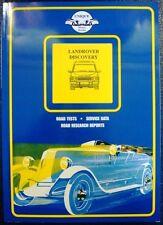 Land Rover Discovery, Motor Libros Colin Pitt Auto Libro
