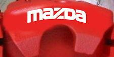 MAZDA Curved Brake Caliper Decals (8)