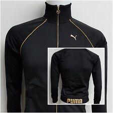 Puma Kinder Jacke Jacket Sport Freizeit Sweatershirt Pullover schwarz O 13- 14