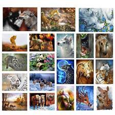 5D Diy Full Drill Diamond Painting Cute Animals Cross Stitch Craft Home Decor Us