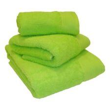 Vert Citron 100% coton égyptien 600gsm POIDS LOURD serviettes de bain &/ou tapis
