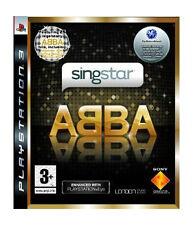 SINGSTAR ABBA (3+) 2008 londodstudio Sony Playstation 3 che canta gioco 25 HITS