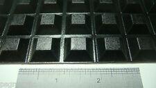 "28 Self Adhesive Rubber Feet Bumpers 0.81"" x 0.3"" Black Bumper Feet Lg + Samples"