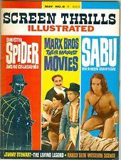 Screen Thrills Illustrated #8 Spider serials, Sabu 1964