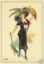 Carte Postale  Costume  Les Beaux Arts