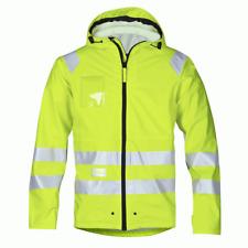 Snickers 8233 Hi-Vis PU Rain Jacket, Class 3 - YELLOW