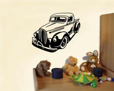 Wandtattoo Pick Up Oldtimer Muscle Car Auto  25 Farben 5 Größen Wandsticker