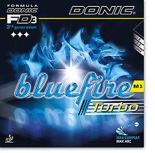 DONIC Bluefire M1 Turbo  Tischtennis-Belag Tischtennisbelag