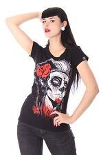 LCR brand Dead Girl rockabilly tatuaje villana Shirt