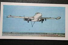 De Havilland  Sea Venom   Royal Navy Fleet Air Arm   Fighter  Illustrated Card