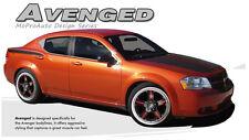 Split Hood Rear Quarter Side Trunk Decal Graphic Stripe 2008-2014 Dodge Avenger
