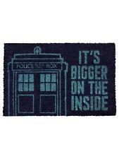 Doctor Who  Door Mat Tardis Blue 60 x 40cm