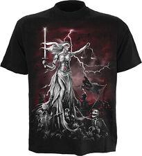 Spiral Blind Justice men's T Shirt - Black