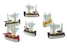 Maquette bateau chalutier en bois 6 couleurs disponibles décoration marine neuf