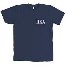 Pi Kappa Alpha PIKE Bella + Canvas POCKET NAVY T Shirt Fraternity Tee NEW