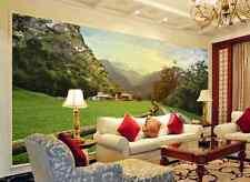 3D Temptation Field Scene Wallpaper Decal Decor Home Kids Nursery Mural  Home