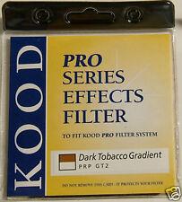 Genuine New Kood  P Dark Tobacco Graduated Filter Fits Nikon Canon Cokin