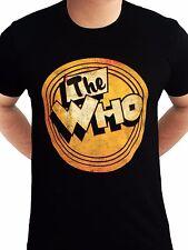 El logotipo de buey británico de 45 Rpm que Música Rock Camiseta Negro para Hombre