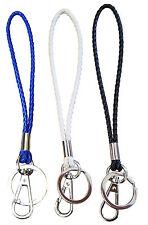 Braided Wristlet Key-chain Key Rings For keys, ID holder, Cell phone & Camera