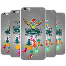 Feliz Navidad Decoraciones de Navidad cubierta rígida teléfono cubrir para teléfonos Apple