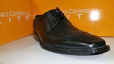 Antonio Cerrelli Elite Men's Black Faux Aligator Skin Dress Shoes Size 8.5-13
