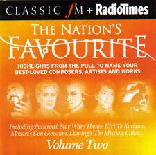 V/A - The Nation's Favourite Volume Two (UK 12 Tk CD Album) (Classic FM No 167B)