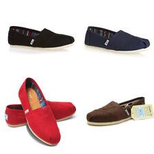 TOMS Authentic WOMENS Classic Alpargata Slip On Trainers Shoes