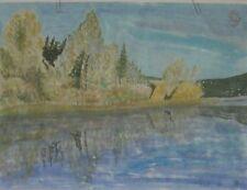 Chinese watercolor painting Williams Lake Bc Canada BY HAMISH