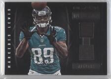 2012 Panini Black NFL Equipment Combo Prime #4 Marcedes Lewis Football Card