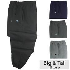 Big Men's Champion Sweat Pants 3XL 4XL 5XL 6XL Elastic Ankle Opening