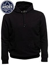 AHORN Kapuzenpullover Übergröße 3XL - 10XL Sweatshirt Schwarz Pullover Sweat