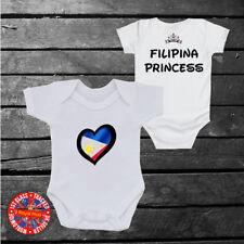 Philippines Princess Baby grow vest, Filipina, Disney Inspired, Kids, Girls