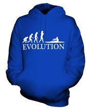 ROWING EVOLUTION OF MAN UNISEX HOODIE MENS WOMENS LADIES GIFT CLOTHING ROWER