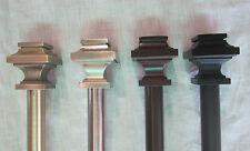 "Urbanest Zinc Cast Structure Drapery Curtain Rod Set 3/4"""