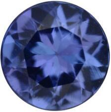 Natural Fine Deep Blue Violet  Tanzanite - Round - Tanzania - AAA Grade
