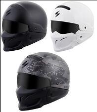 Scorpion Adult Covert 3/4 Open Face 3-In-1 Street Motorcycle Helmet DOT