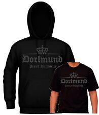 T-Shirt Kapuzensweat Dortmund Ultras Hoodie Fan Shirt Hooligan Supporter Sweat