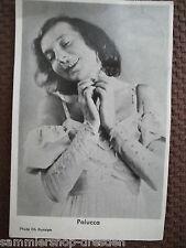 Ta-03 Gret Palucca bailarina Dresden autógrafo mapa Autograph 1946 muy bien