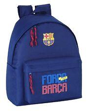 Barcelona Back Pack Ruck Sack 2 Pockets 100% Official FCB Product Quality 37 cm
