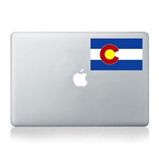 Colorado Flag (4 Color) Vinyl Decal - fits car windows, laptop sticker K609