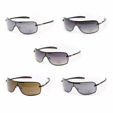 XLoop Fashion Wrap Sunglasses for Men - Modern Style Shades Metal/Plastic Frame