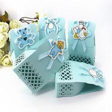 12pcs Carino Baby Shower Caramelle Scatola Regalo Decorazione Festa Bambino Compleanno Dolce bagw & T