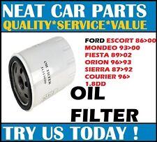 OIL FILTER FOR FORD ESCORT 95>02 FIESTA 89>02 MONDEO 93>00 SIERRA 87>92