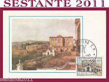 ITALIA MAXIMUM MAXI CARD 1981 VILLA CAMPOLIETO ERCOLANO (365)