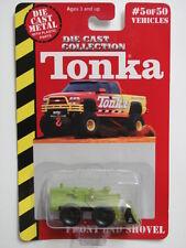 MAISTO TONKA #05 OF 50 DIE CAST METAL FRONT END SHOVEL GREEN