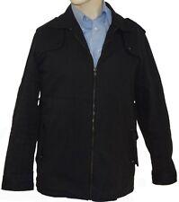 'Goldspun' -Designer Jacket-Japanese Denim (4485) Color: Grey Black- Size:M & L