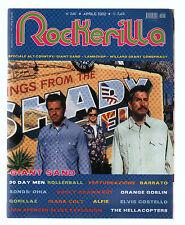 ROCKERILLA 260/02 HARD ROCK MAGAZINE GIANT SAND FLUXUS MALASANGRE VORTICE CREMIS