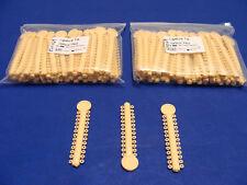 Dental Elastic Orthodontic CREAM 2 Pack /2080 Ligature Ties ELN029 ORTHOM