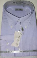 Camicia classica uomo Cool Man manica lunga collo Button down  art 149